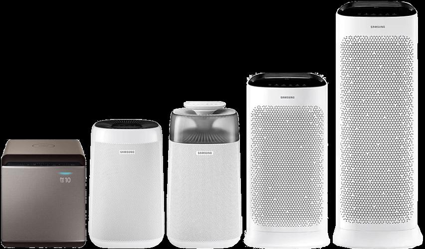 Porównanie oczyszczaczy Samsung