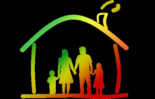 #ZostańWDomu Rodzina w domu