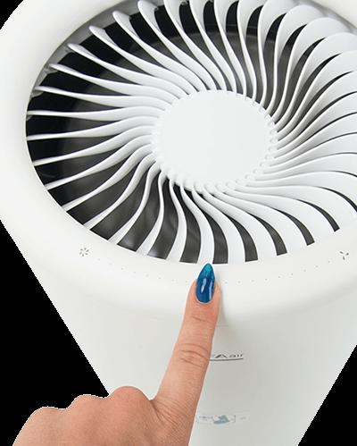 Oczyszczacz powietrza LIFAair LA333 + LAM05 Sterowanie