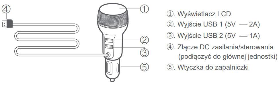 LIFAair LAC100 schemat