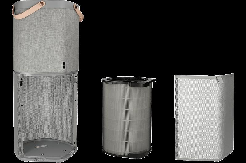 Electrolux PA91-604GY filtracja, przekrój urządzenia