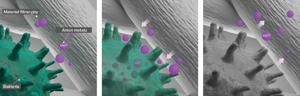 Xiaomi MCR-FLG Purple usuwa bakterie