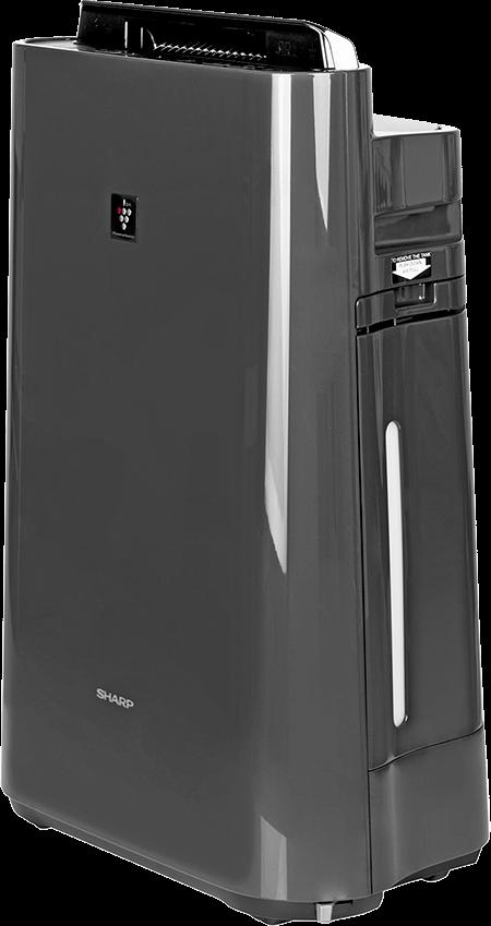 Oczyszczacz Sharp KC-D40EUH z boku