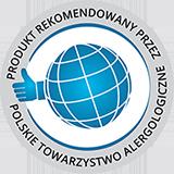 Certyfikat Polskiego Towarzystwa Alergologicznego oczyszczacza Samsung