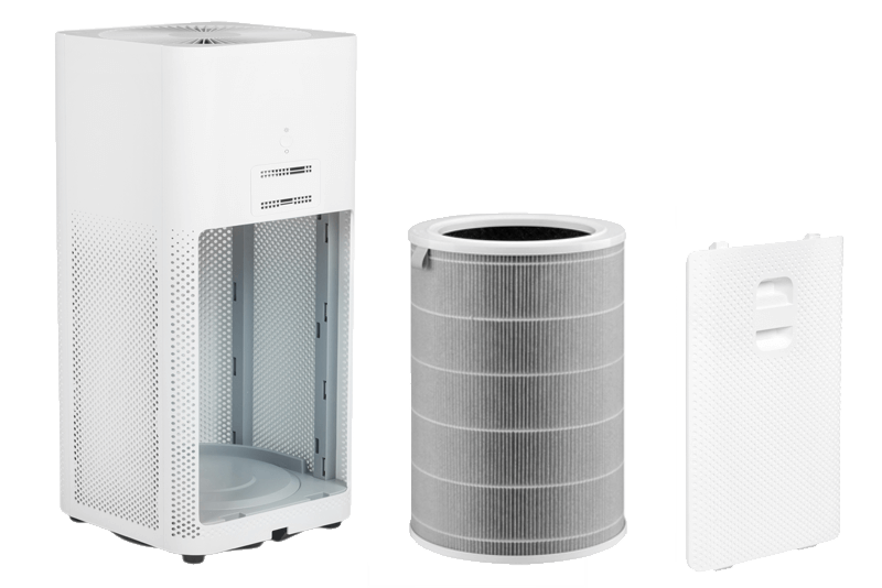 Stopnie filtracji Xiaomi Mi Air Purifier 2H