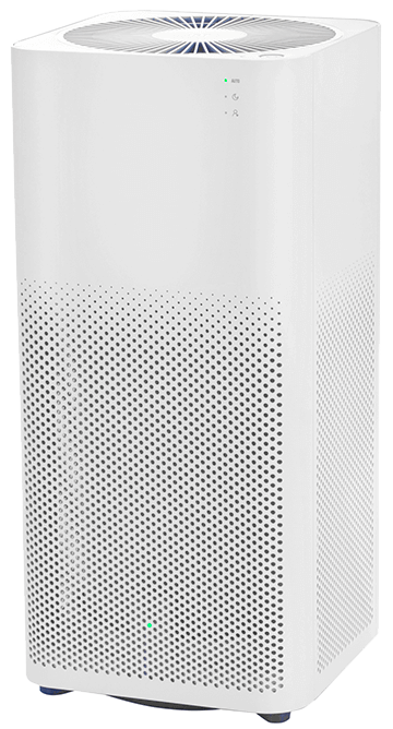 Xiaomi Air Purifier 2H widok z boku