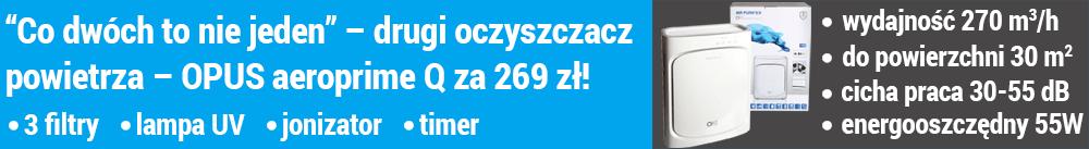 Promocja Coway Storm - drugi oczyszczacz za 149 zł
