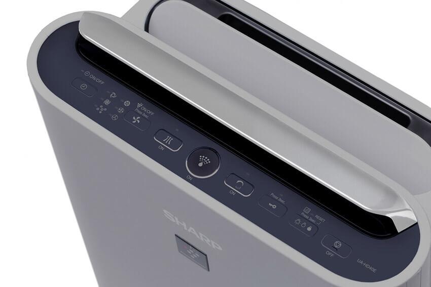 Sharp-UA-HD40E-L panel sterowania