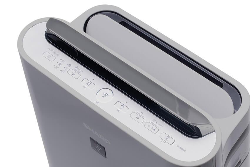Sharp-UA-HD60E-L panel sterowania