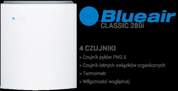 Bueair Classic 280i czujniki