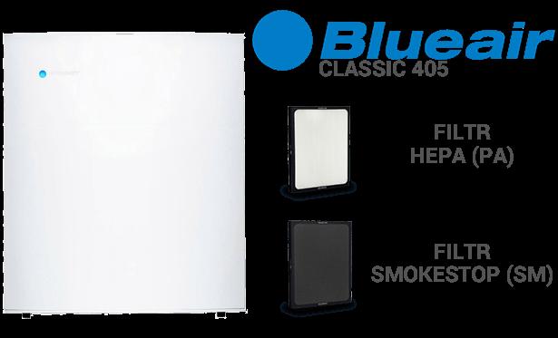 Filtr do wyboru w BLUEAIR Classic 405