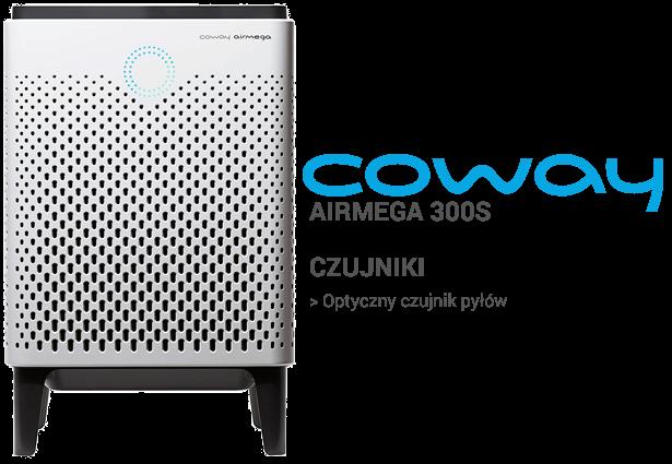 Coway Airmega 300S czujniki