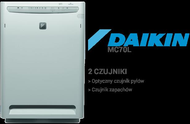 Daikin MC70L czujniki