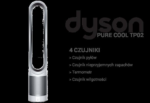 Dyson Pure Cool TP02 czujniki