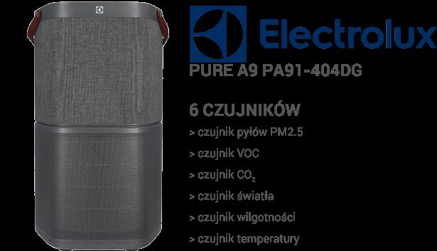 Electrolux Pure A9 PA91-404DG czujniki