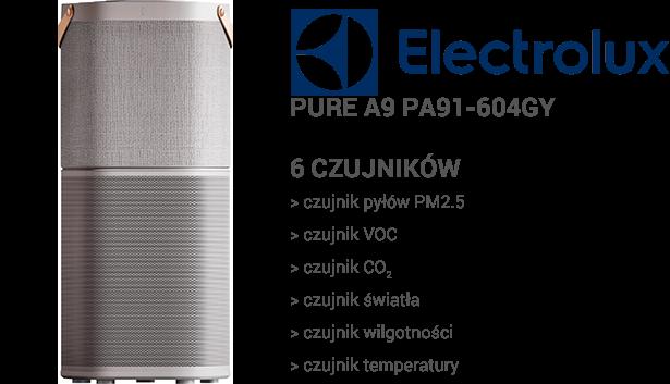 Electrolux Pure A9 PA91-604GY czujniki