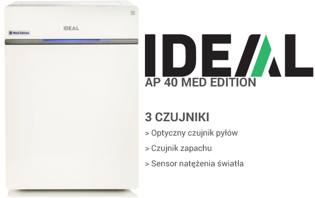 IDEAL AP 40 MED Edition czujniki