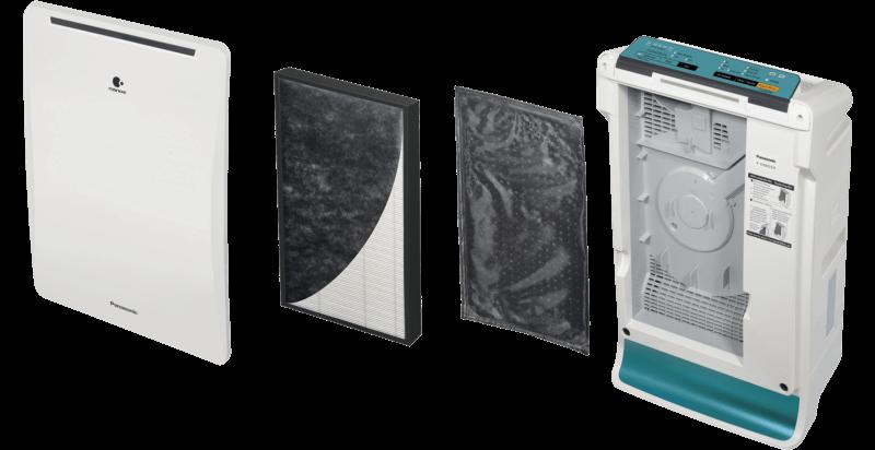 4 filtry w Panasonic F-VXR35G-A