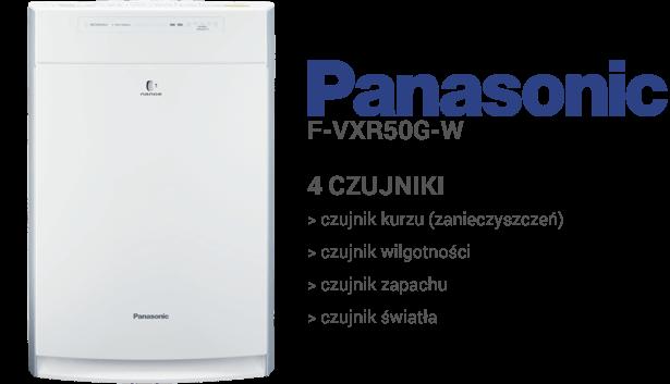 Panasonic F-VXR50G-W czujniki