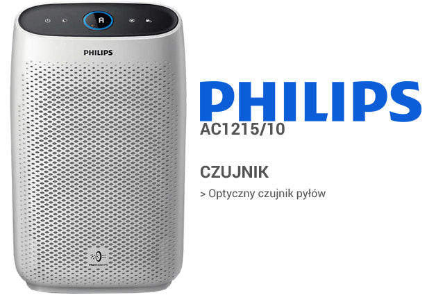 Philips AC1215/10 czujniki
