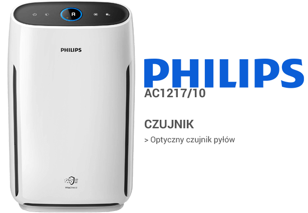 Philips AC1217/10 czujniki