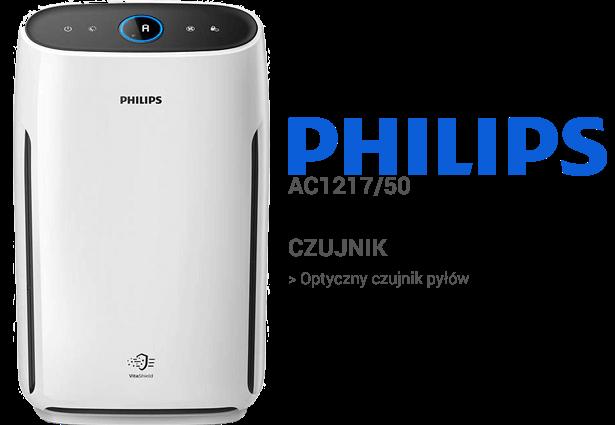 Philips AC1217/50 czujniki