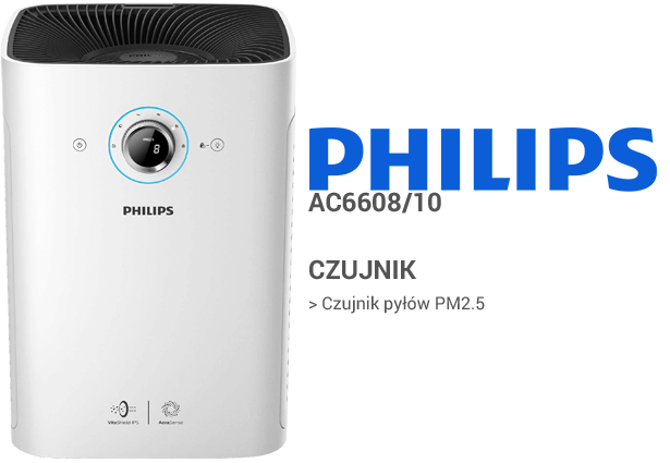 Philips AC6608/10 czujniki