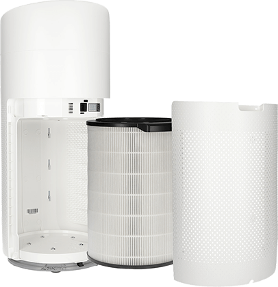 Philips AC3858/50 filtracja