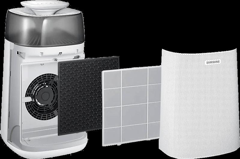 3 filtry w Samsung AX40