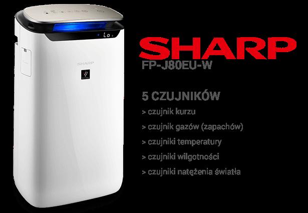 Sharp FP-J80EU-W czujniki