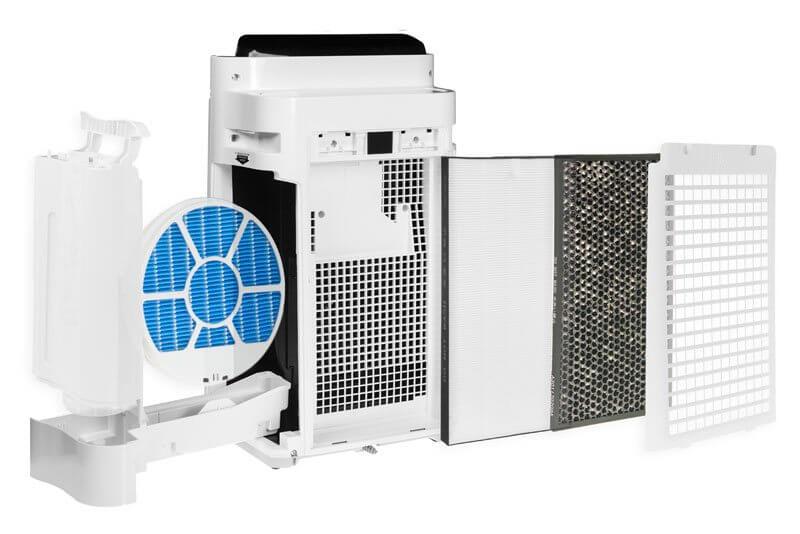 Sharp KC-D50EU-W filtracja