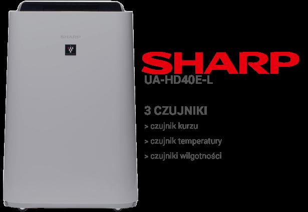 Sharp UA-HD40E-L czujniki