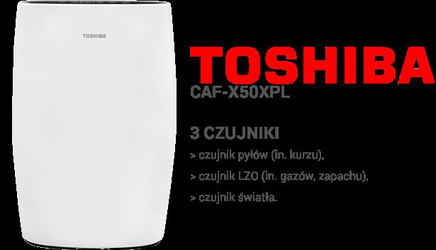 Toshiba CAF-X50XPL czujniki