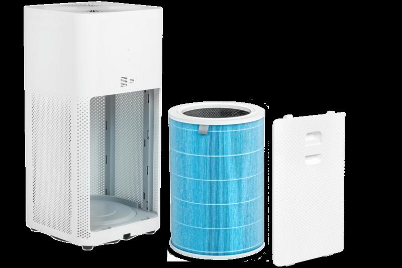 3 poziomy filtracji w Xiaomi Air Purifier 2S