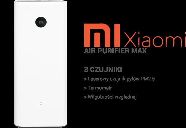 Xiaomi Air Purifier Max czujniki